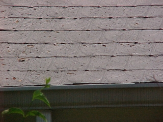 Before Photo Of Old Tin Shingles ...