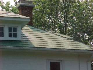 closup of old shingles