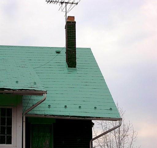 Patina Shingle Roof How To Combine Old And New Embossed