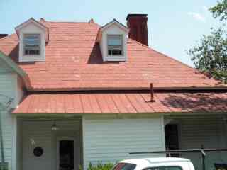 Repair Tin Shingle Roof Early 1870s Style Roof Menders Inc