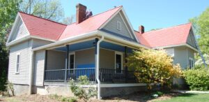 The destinctive capping of old has been replaced by a custom designed style in Graham, NC